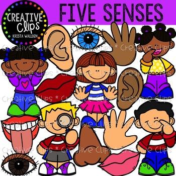 Five senses mini bundle. Taste clipart descriptive