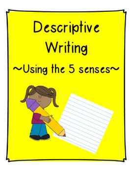 5 senses clipart descriptive writing. Using the by jennifer