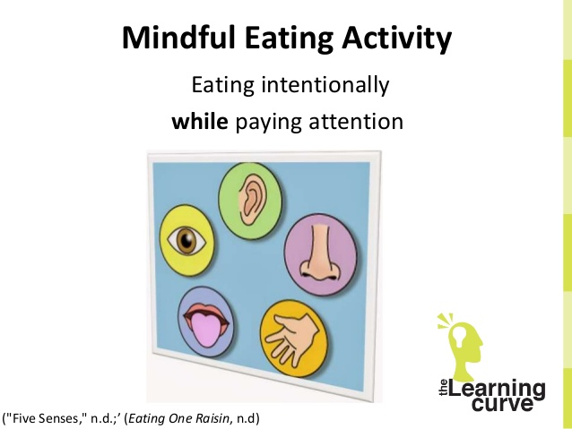 Reducing stress with mindfulness. 5 senses clipart mindful