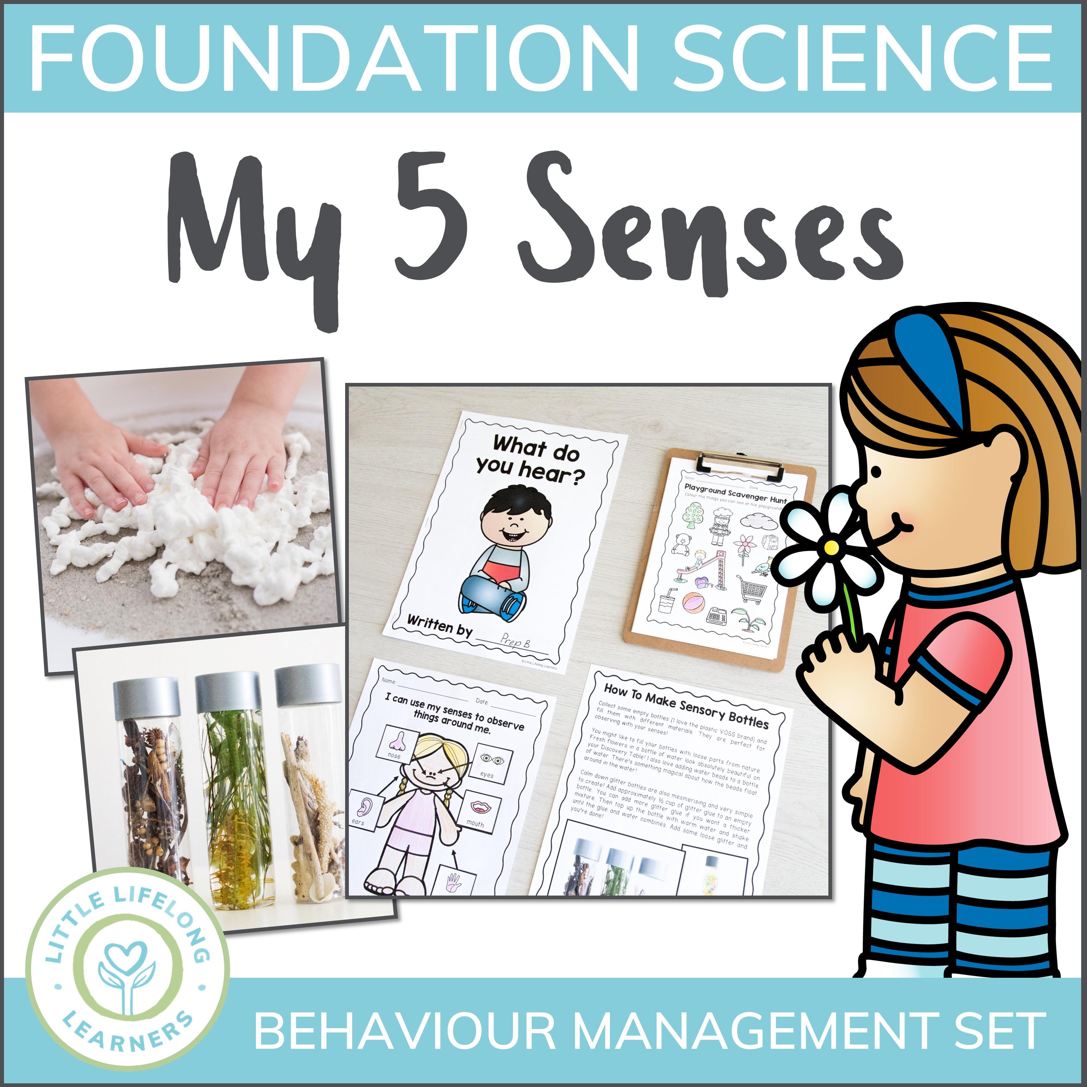 science unit. 5 senses clipart observation