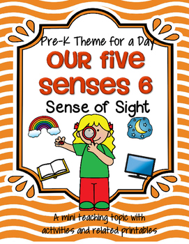 Sense of Sight Theme Centers