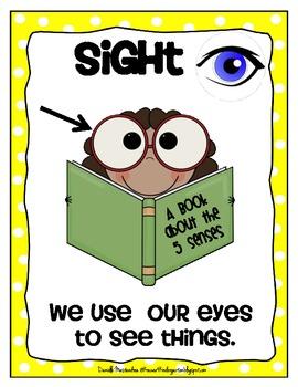 5 senses clipart sight.  poster set free