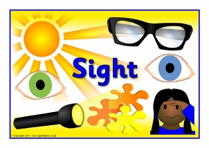 5 senses clipart sight. Teaching resources printables for