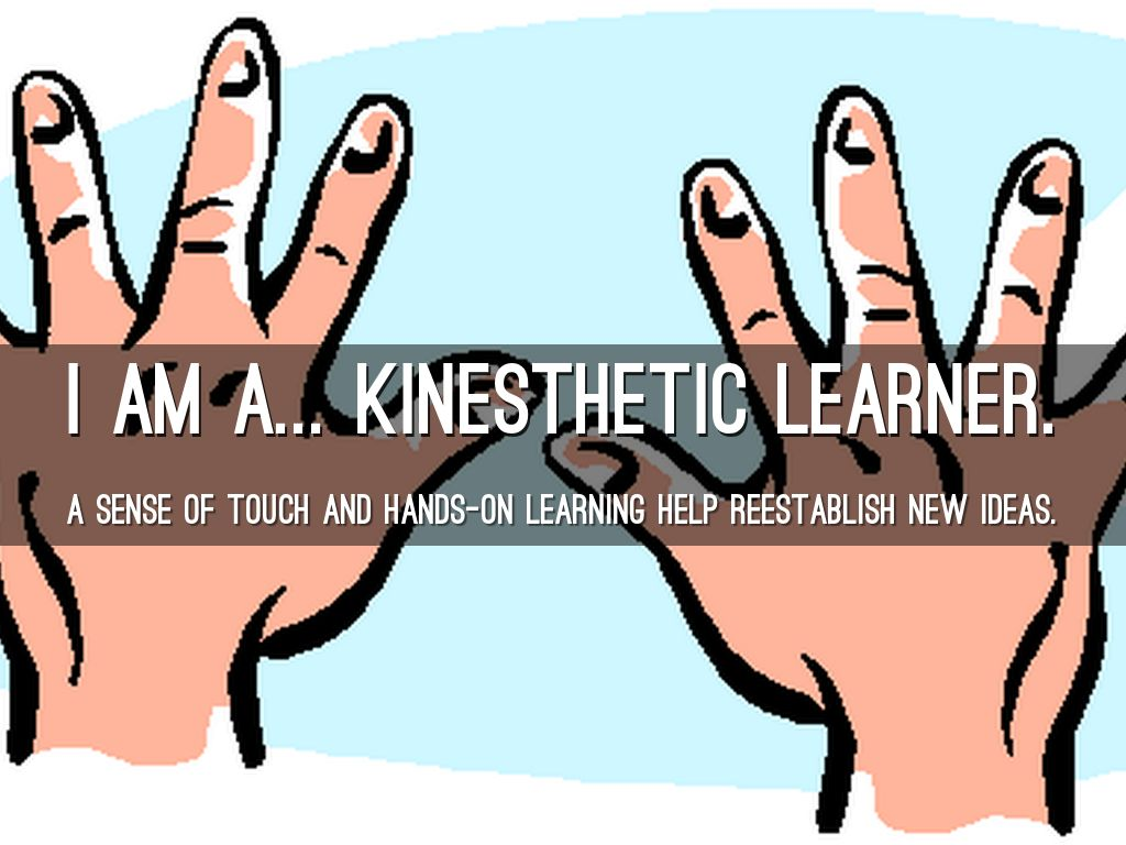 5 senses clipart tactile learning. I am a learner