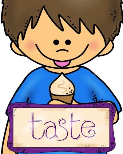 5 senses clipart taste. Sense of round up