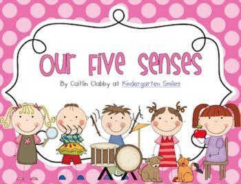 5 senses clipart teaching.  best five unit