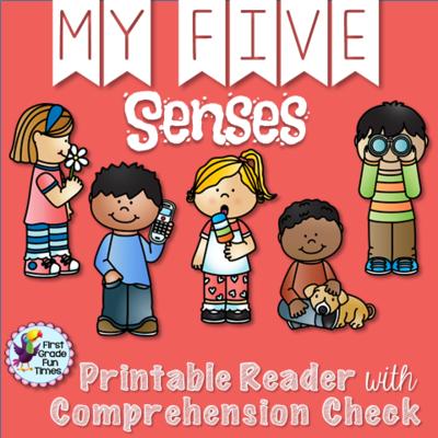 Five . 5 senses clipart value