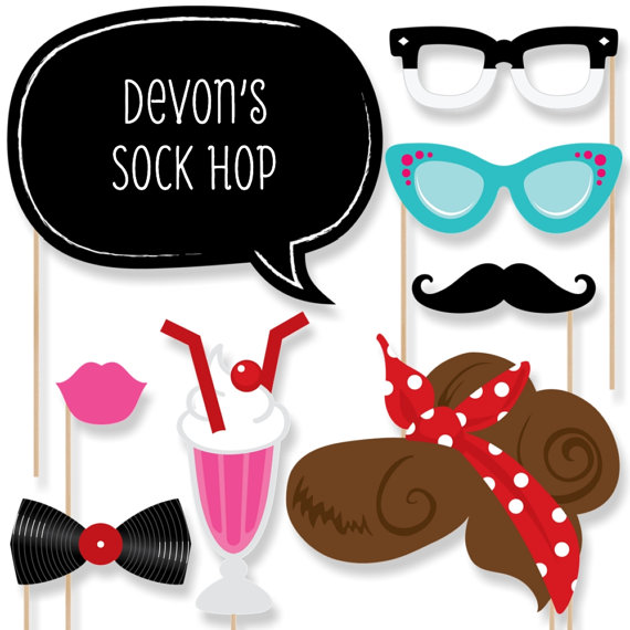 50s clipart 50 glass.  s sock hop