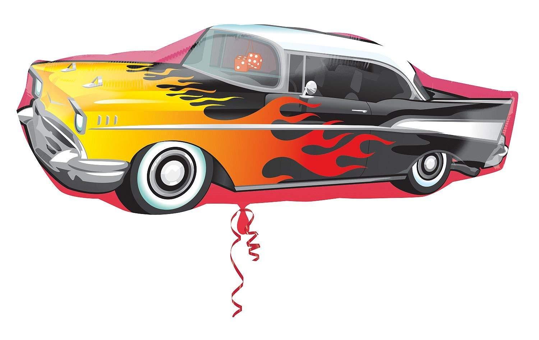 50s clipart 50's car. Amazon com amscan x