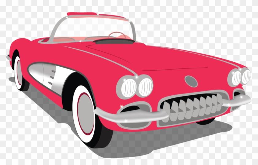 Chevrolet cartoon clip art. 50s clipart 50's car