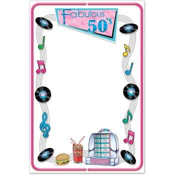 Free fabulous s cliparts. 50s clipart border