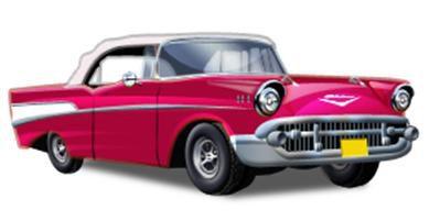 50s clipart car