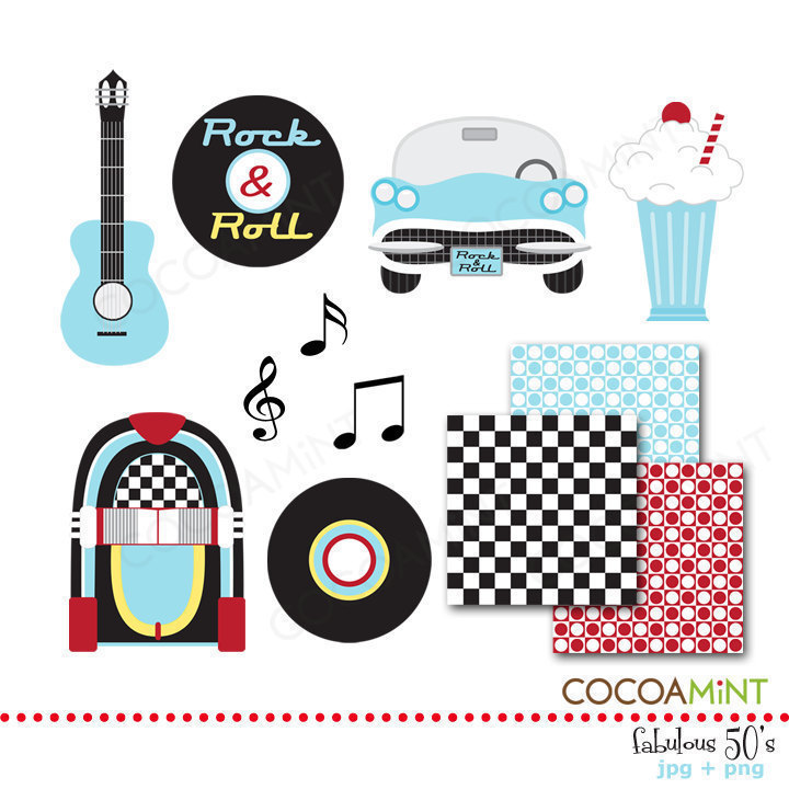 50s clipart cute.  s fifties