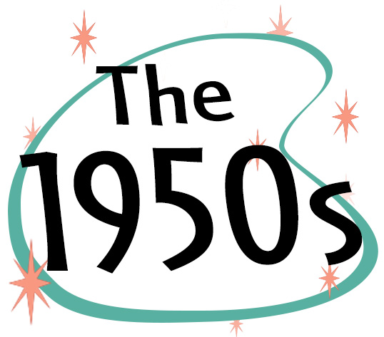 50s clipart decade. Cakes that span the