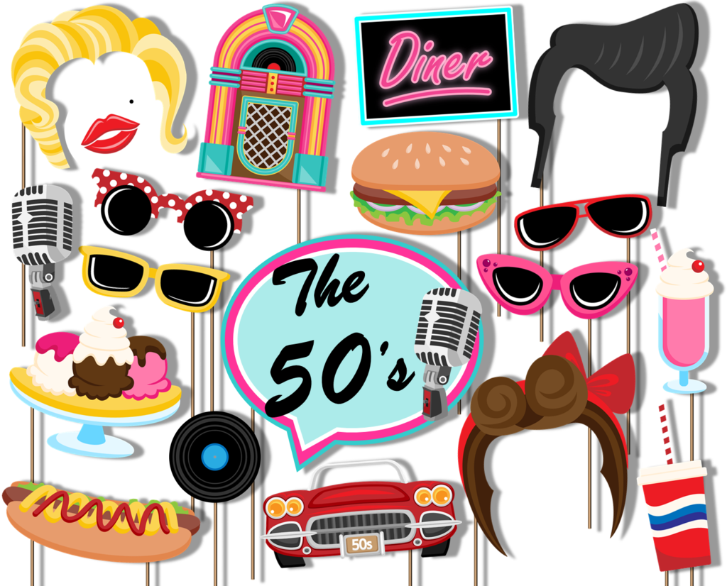 s diner photo. 50s clipart decade