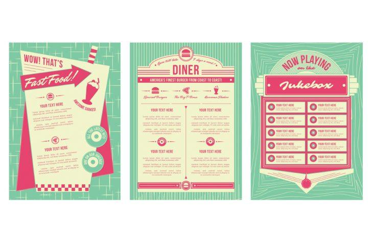 50s clipart diner menu, 50s diner menu Transparent FREE for