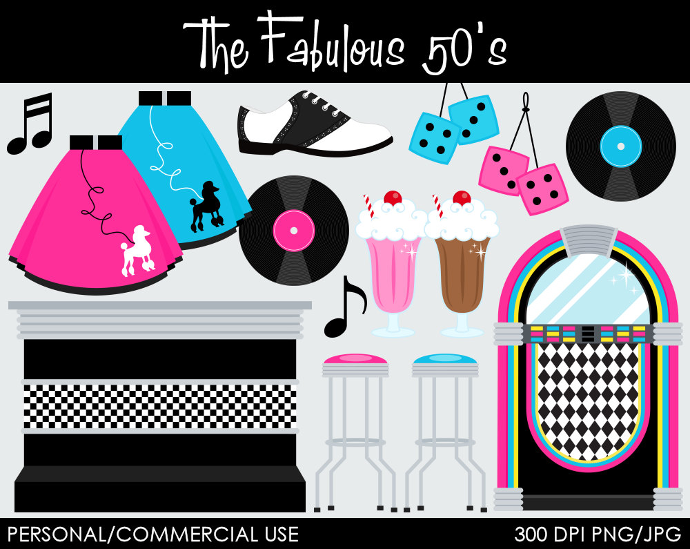 50s clipart fabulous. Free s cliparts download