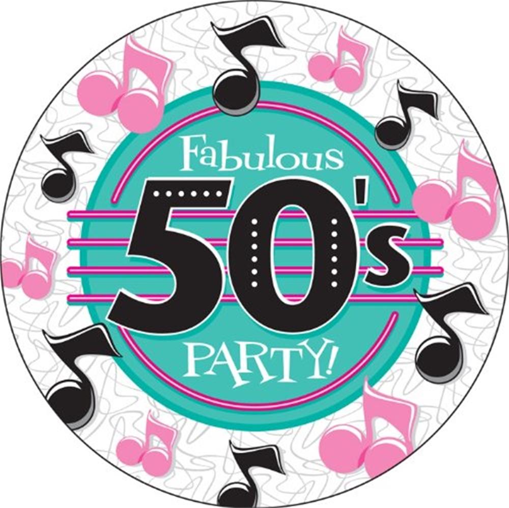 50s clipart fabulous. S dinner plate ct