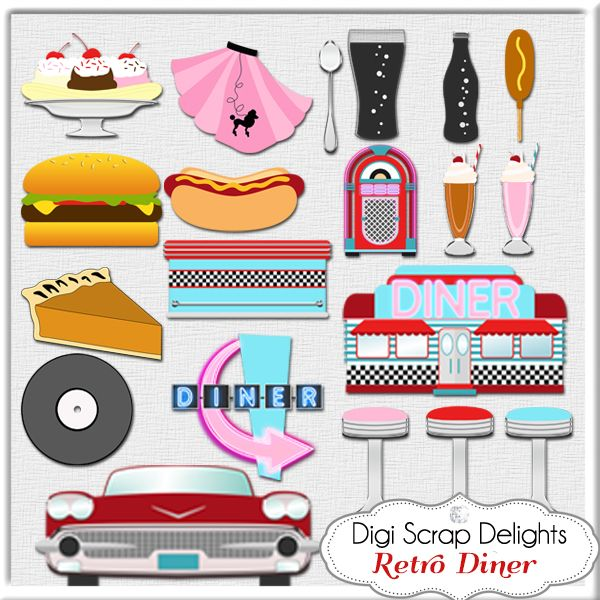 Diner clipart.  s