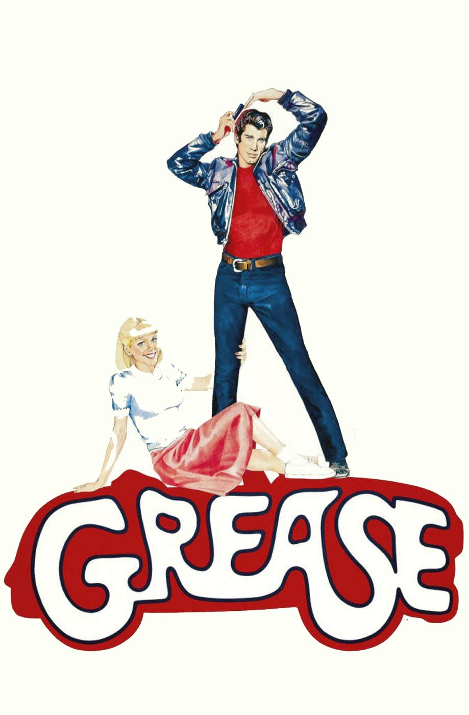 50s clipart greaser. Grease love the late