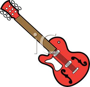 Rock and roll clip. 80's clipart 80 guitar