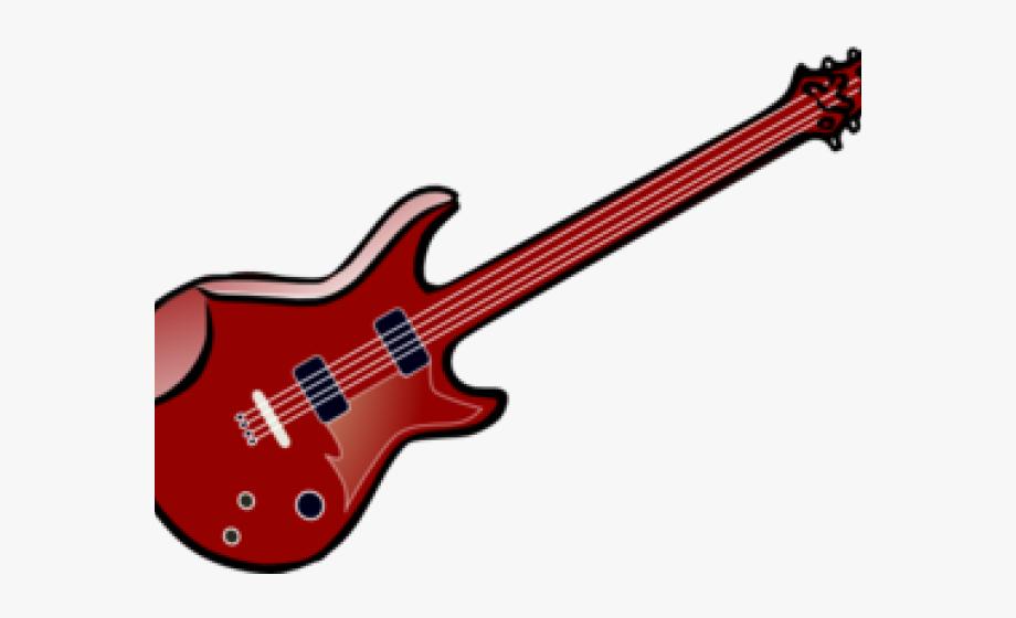 Clipart guitar 50's.  s colorful transparent