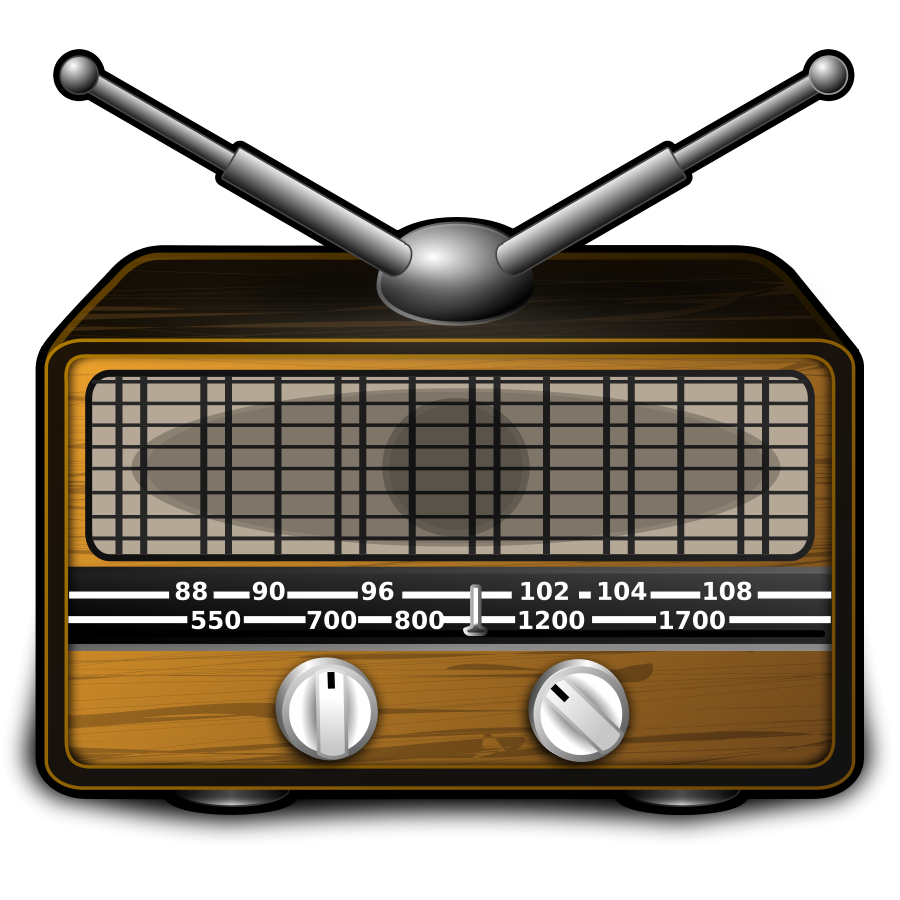 Radio clip art free. Electronics clipart style