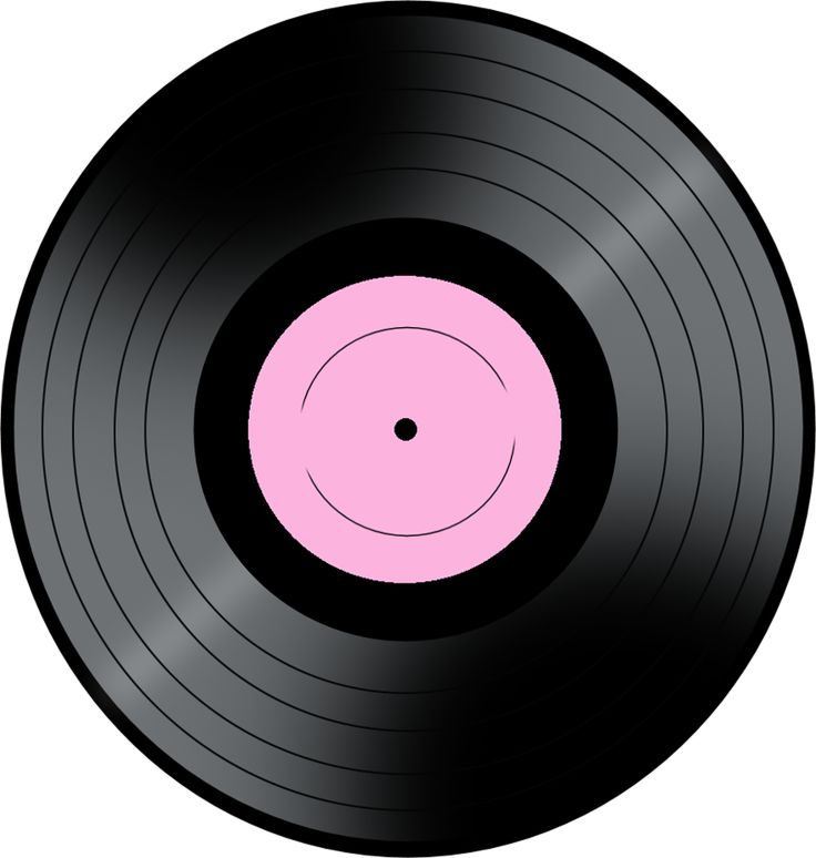 50s clipart record.  best musica rock