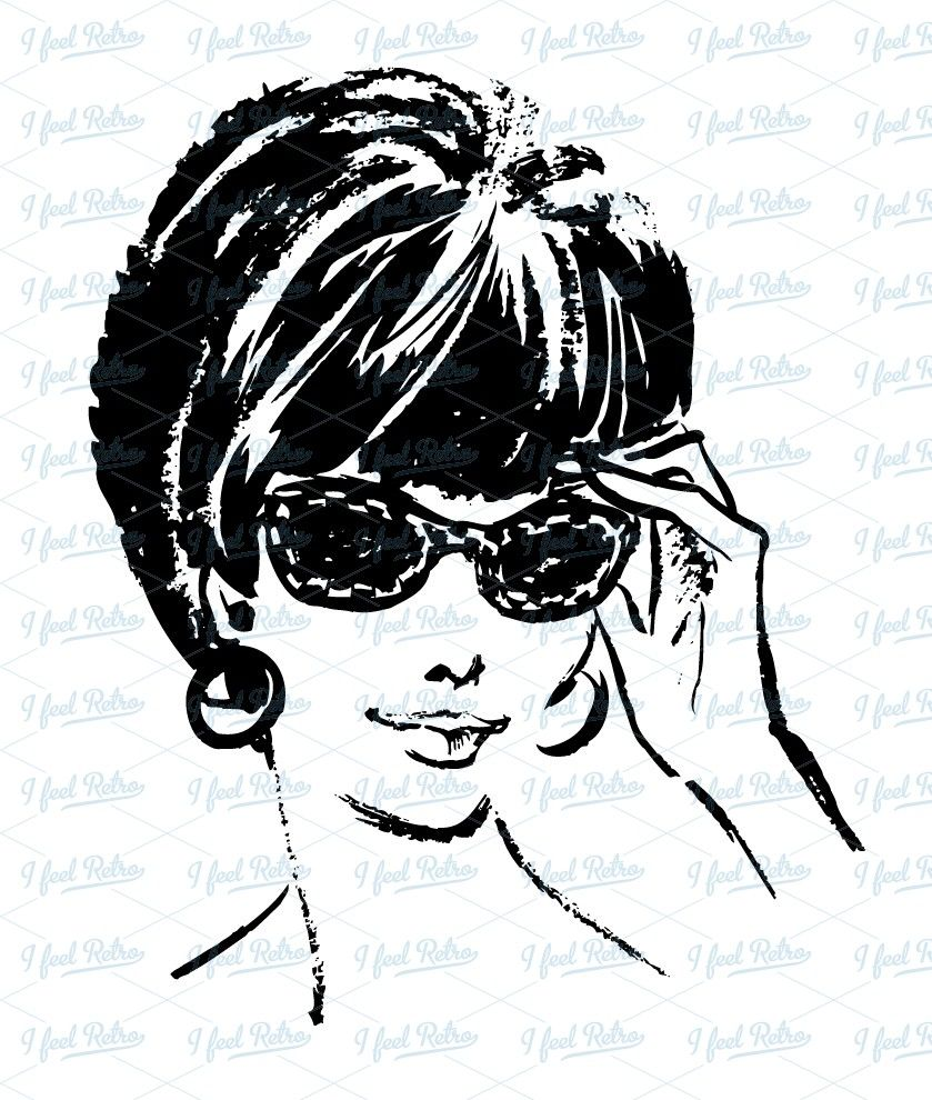 Clipart sunglasses woman clipart.  s with crafts