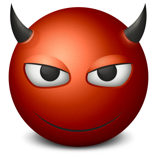Devil icon free icons. 512x512 png images