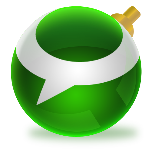 Shiny social ball by. 512x512 png images