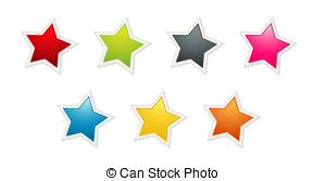 7 clipart 7 star.  collection of seven
