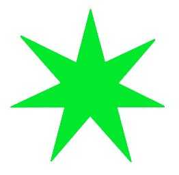 Free stars graphics images. 7 clipart 7 star