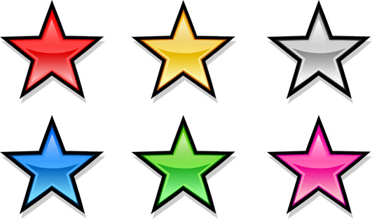 7 clipart 7 star. Clip art hoard metallic
