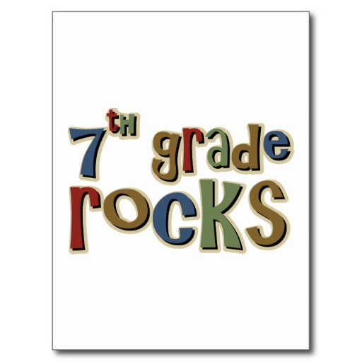 th grade rocks. 7 clipart 7th