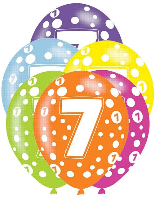 7 clipart 7th.  th birthday station