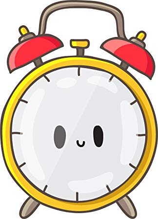 Amazon com cute twin. 7 clipart alarm clock