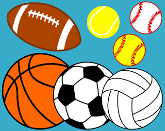 7 clipart ball. Sports etsy svg files