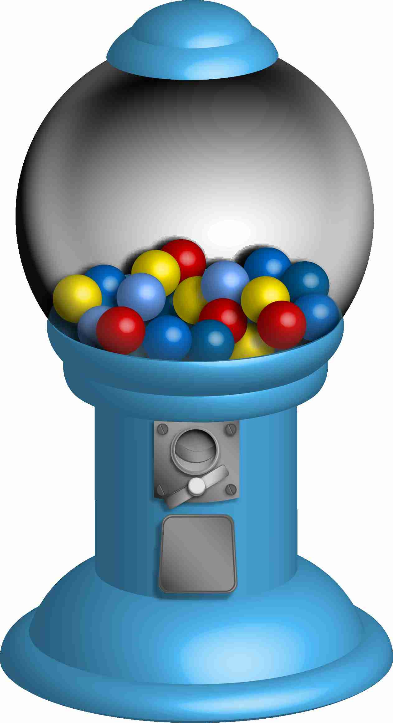 7 clipart ball. Gumball on machine clip
