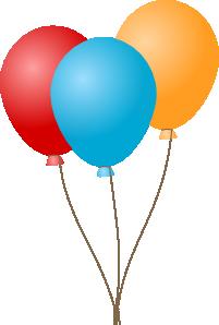 Balloons clip art at. 7 clipart balloon
