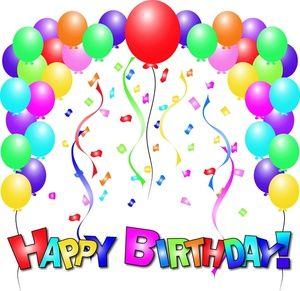 Balloon clipart happy birthday.  best clip art