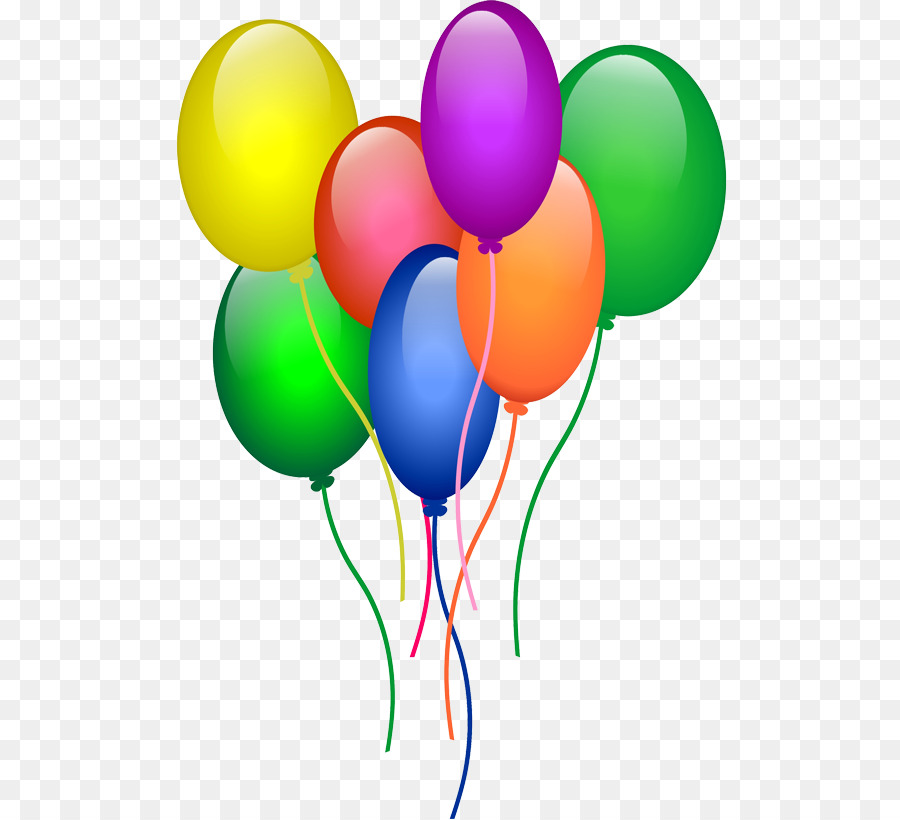 7 clipart balloon. Birthday party background
