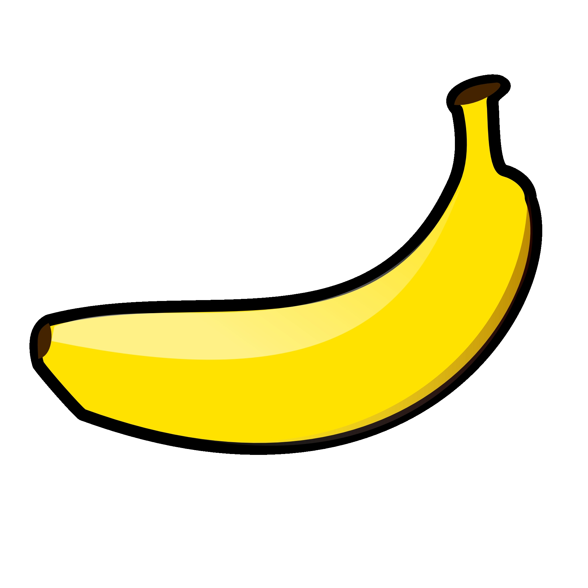 7 clipart banana. Unique gallery digital collection