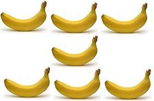 Lesson numbers learning hindi. 7 clipart banana