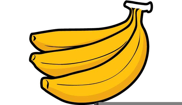 Stalk free images at. 7 clipart banana