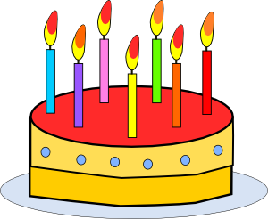 Cake clip art at. 7 clipart birthday