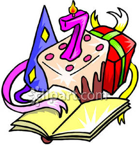7 clipart birthday.