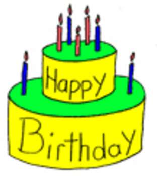 Free picture of a. 7 clipart birthday