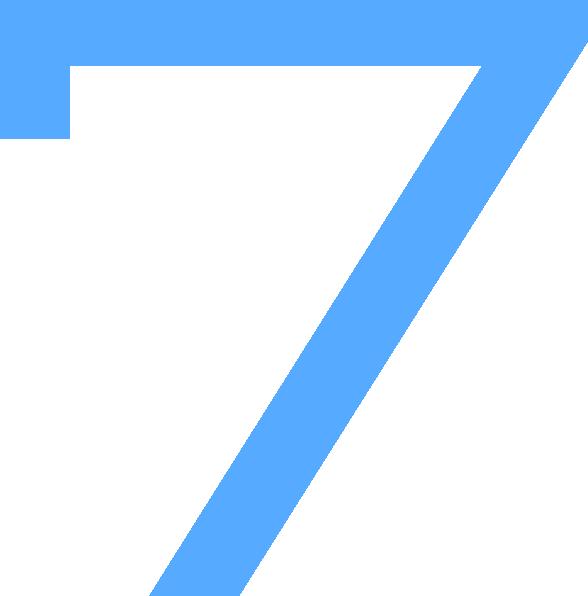 countdown clip art. 7 clipart blue