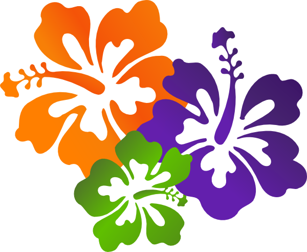 7 clipart colourful. Flowers clip art at